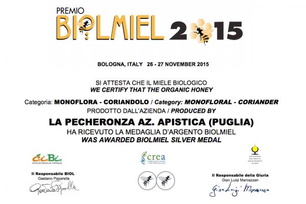 Biolmiel - Coriandolo
